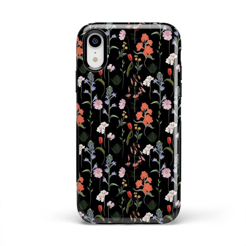 Secret Garden | Mixed Floral Case iPhone Case Get.Casely Bold iPhone XR