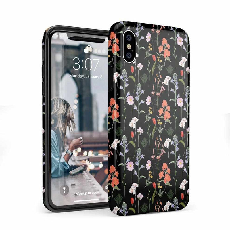 Secret Garden | Mixed Floral Case iPhone Case Get.Casely Classic iPhone X / XS