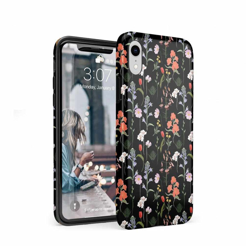 Secret Garden | Mixed Floral Case iPhone Case Get.Casely Classic iPhone XR