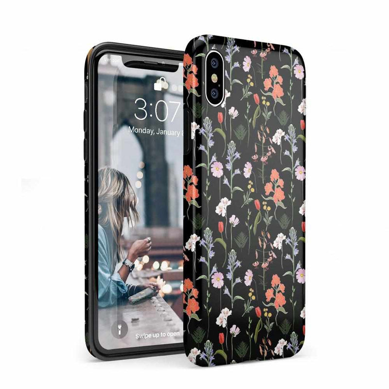 Secret Garden | Mixed Floral Case iPhone Case Get.Casely Classic iPhone XS Max