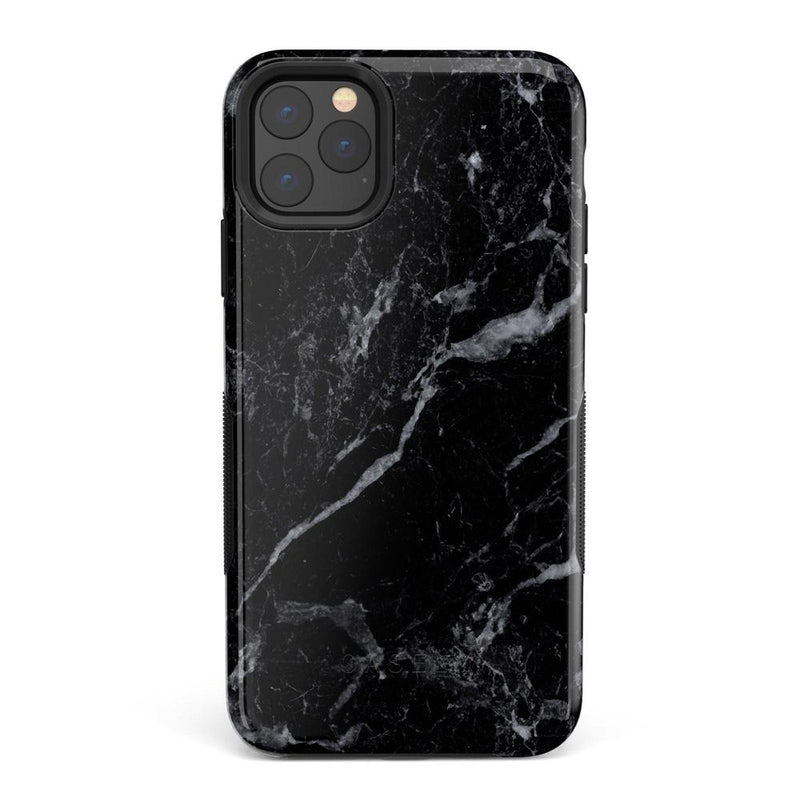 Sleek Black Marble Case iPhone Case Get.Casely Bold iPhone 11 Pro
