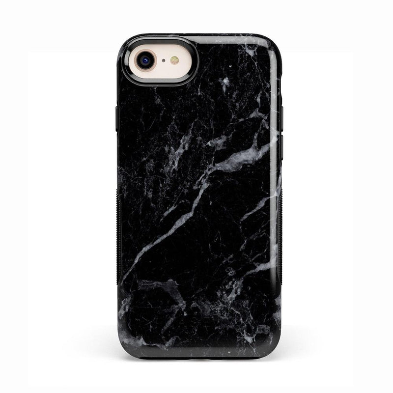 Sleek Black Marble Case iPhone Case Get.Casely Bold iPhone 8