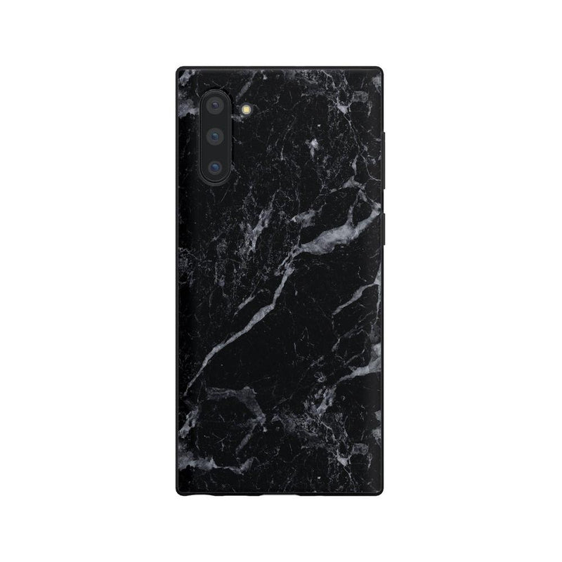 Sleek Black Marble Case iPhone Case Get.Casely Classic Galaxy Note 10