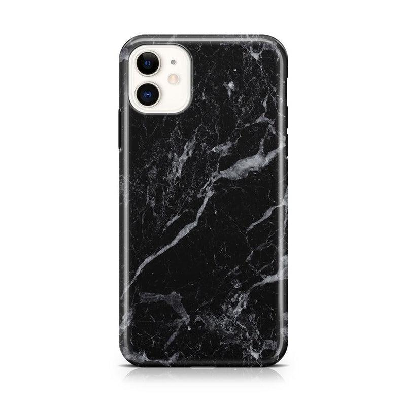 Sleek Black Marble Case iPhone Case Get.Casely Classic iPhone 11