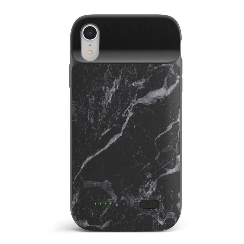 Sleek Black Marble Case iPhone Case get.casely Power 2.0 iPhone XR