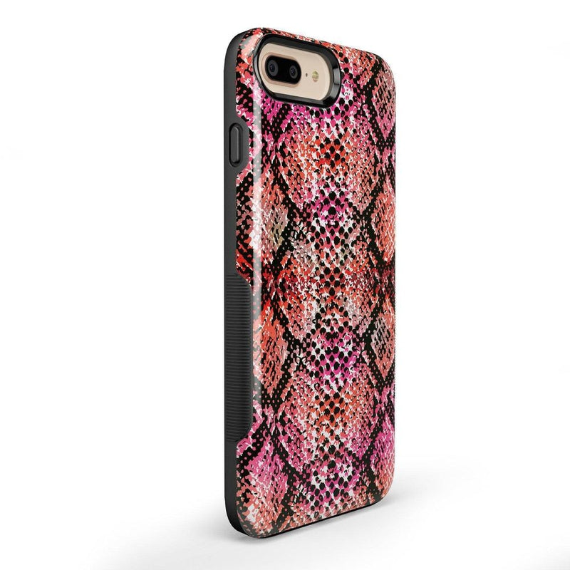 Snake Along Red Snake Skin Case iPhone Case get.casely