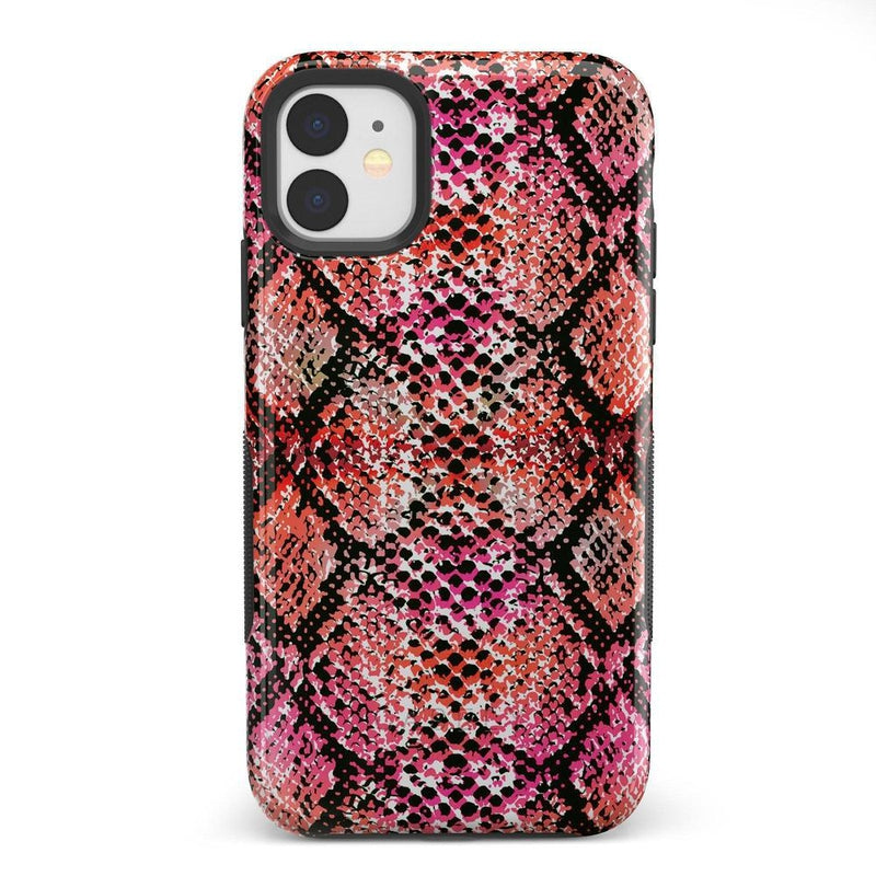 Snake Along Red Snake Skin Case iPhone Case get.casely Bold iPhone 11