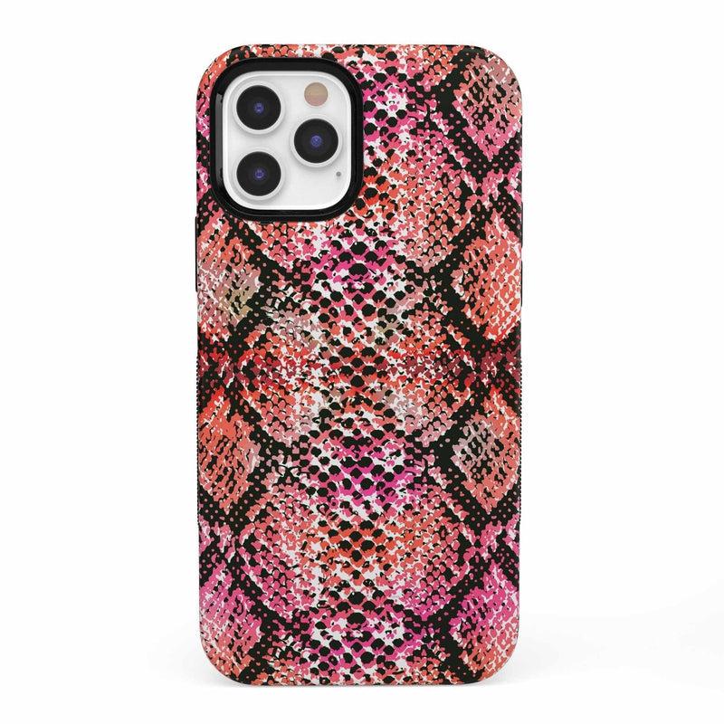 Snake Along Red Snake Skin Case iPhone Case get.casely Bold iPhone 12 Pro