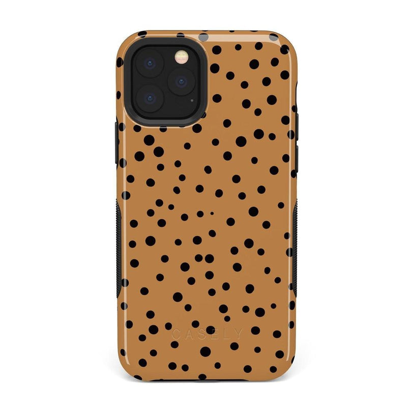 Spot On | Dotted Animal Print Case iPhone Case Get.Casely Bold iPhone 11 Pro