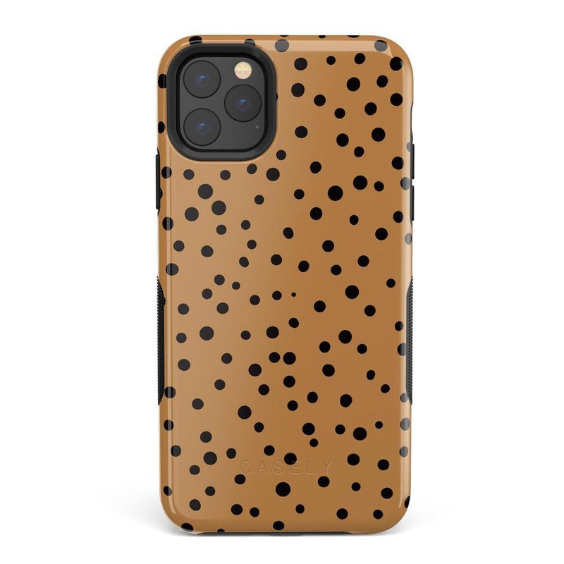 Spot On | Dotted Animal Print Case iPhone Case Get.Casely Bold iPhone 11 Pro Max