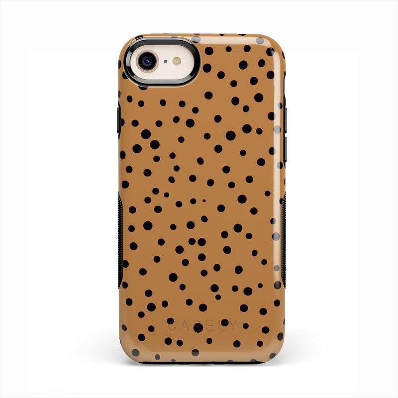 Spot On | Dotted Animal Print Case iPhone Case Get.Casely Bold iPhone 8