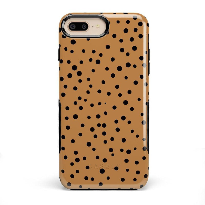 Spot On | Dotted Animal Print Case iPhone Case Get.Casely Bold iPhone 8 Plus