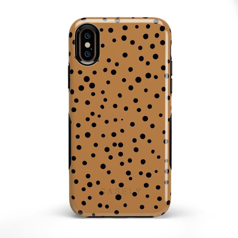 Spot On | Dotted Animal Print Case iPhone Case Get.Casely Bold iPhone X / XS