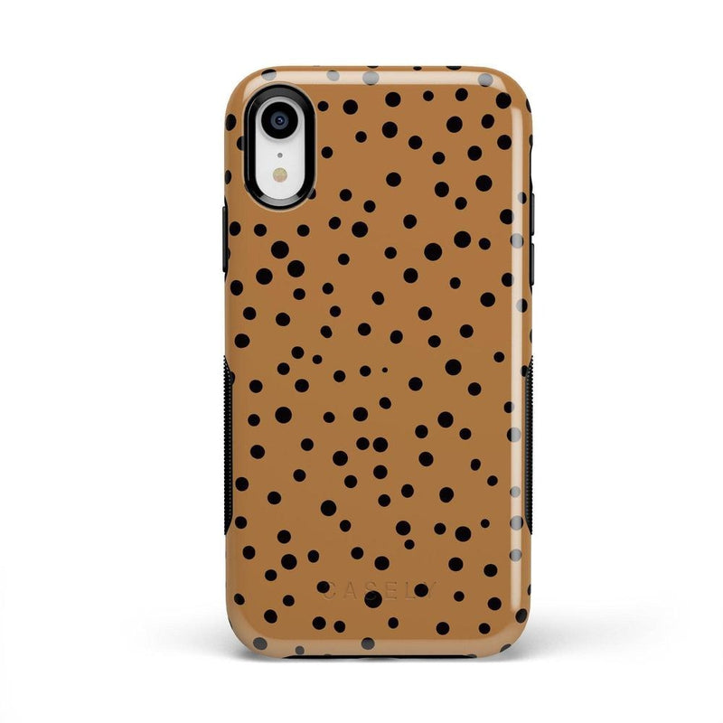 Spot On | Dotted Animal Print Case iPhone Case Get.Casely Bold iPhone XR