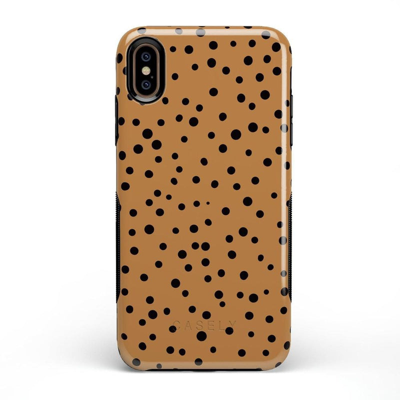Spot On | Dotted Animal Print Case iPhone Case Get.Casely Bold iPhone XS Max