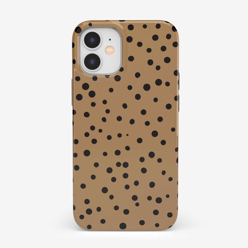 Spot On | Dotted Animal Print Case iPhone Case get.casely Classic iPhone 12 Mini