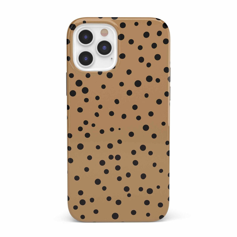 Spot On | Dotted Animal Print Case iPhone Case get.casely Classic iPhone 12 Pro