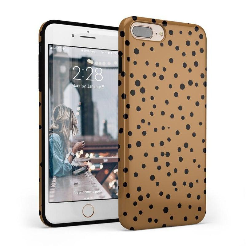 Spot On | Dotted Animal Print Case iPhone Case Get.Casely Classic iPhone 8 Plus