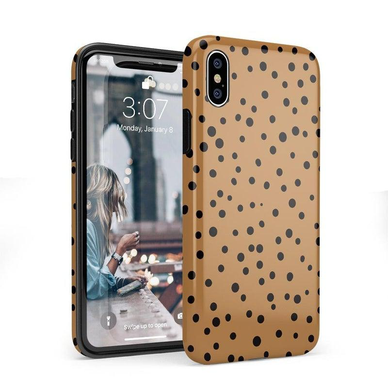 Spot On | Dotted Animal Print Case iPhone Case Get.Casely Classic iPhone X / XS