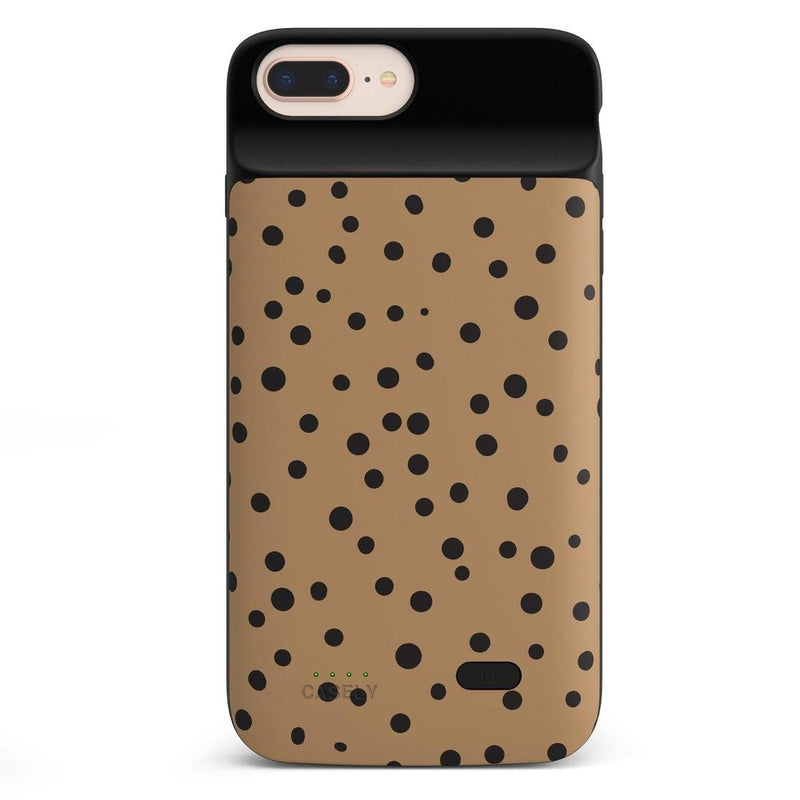 Spot On | Dotted Animal Print Case iPhone Case get.casely Power 2.0 iPhone 8 Plus