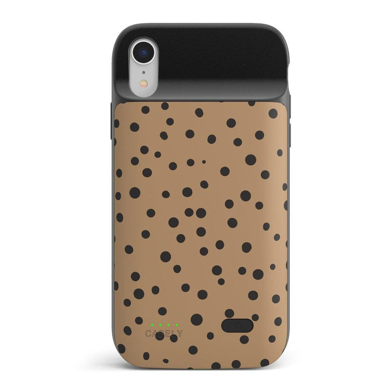 Spot On | Dotted Animal Print Case iPhone Case get.casely Power 2.0 iPhone XR