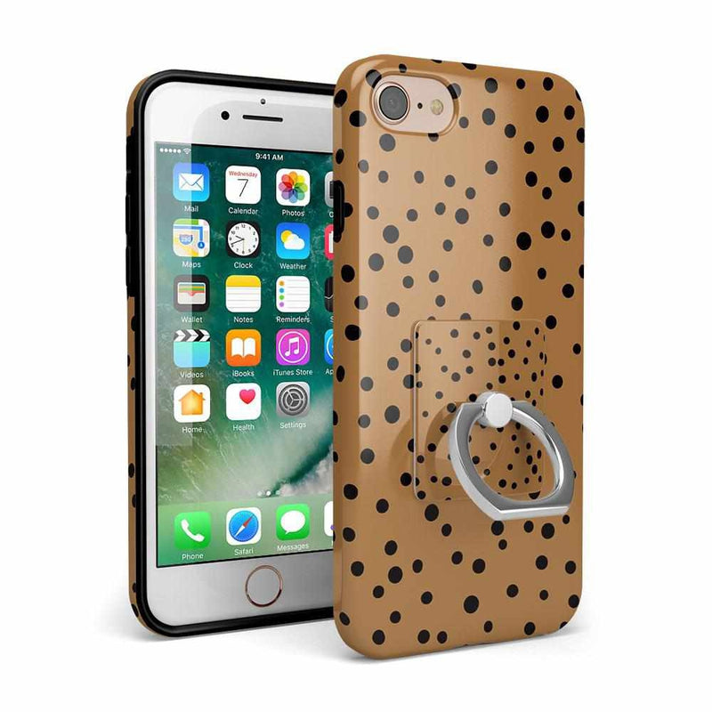 Spot On | Dotted Animal Print Phone Ring Phone Ring Get.Casely