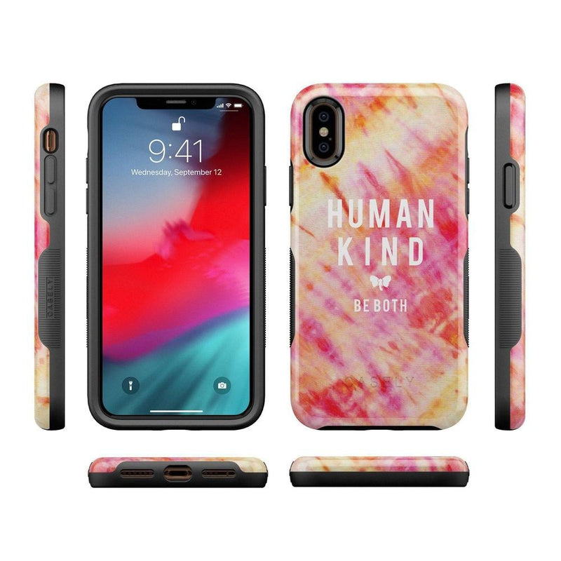 #SpreadHope x Ivory Ella | Human Kind Tie Dye Case iPhone Case get.casely