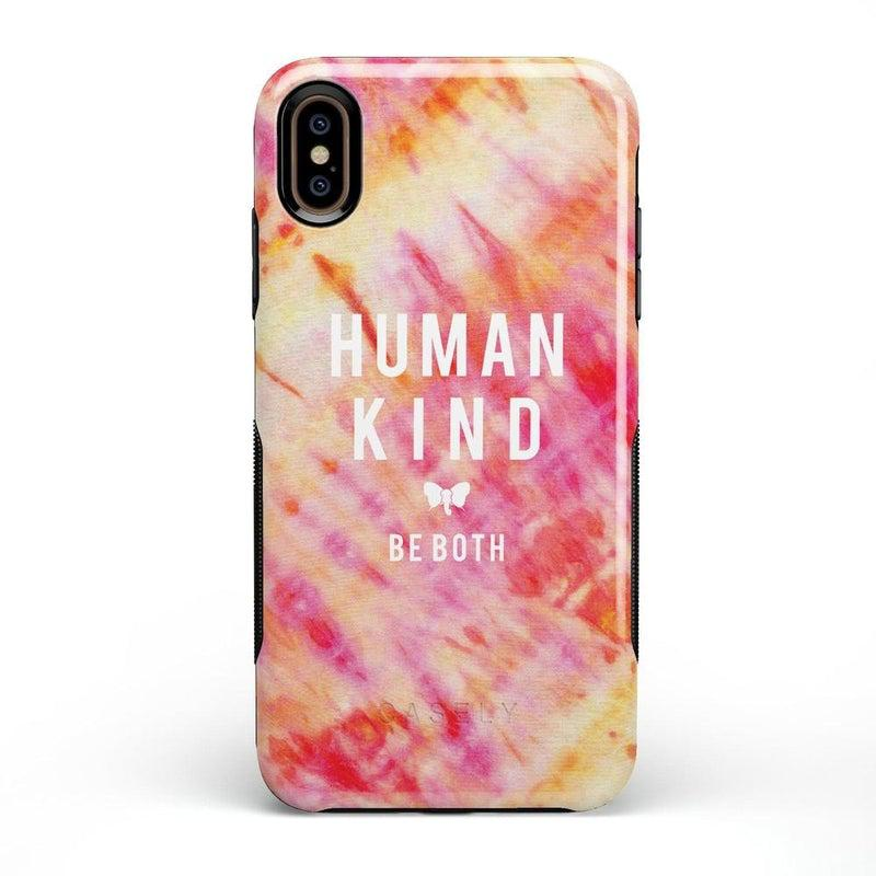 #SpreadHope x Ivory Ella | Human Kind Tie Dye Case iPhone Case get.casely Bold iPhone XS Max