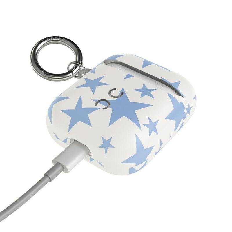 Stars Align | Blue & White Stars AirPods Case AirPods Case CASELY