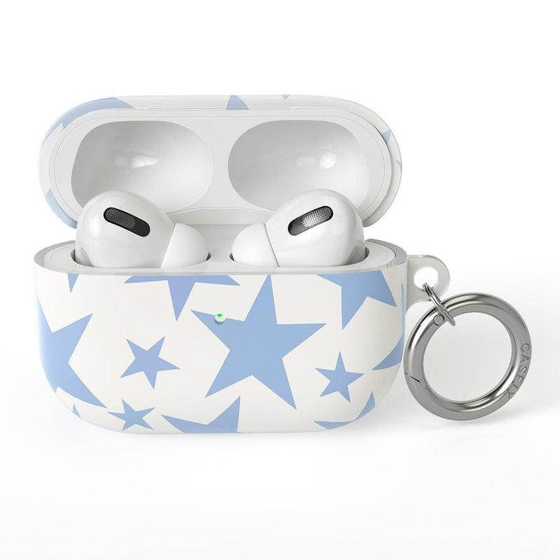 Stars Align | Blue & White Stars AirPods Case AirPods Case CASELY AirPods Pro Case
