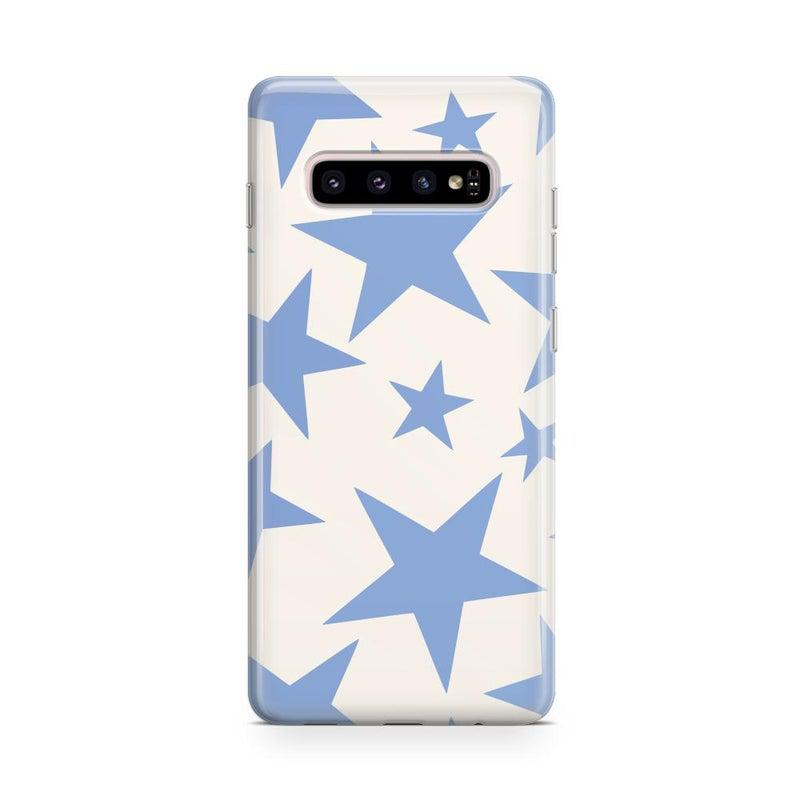 Stars Align | Blue & White Stars Case iPhone Case get.casely Classic Galaxy S10