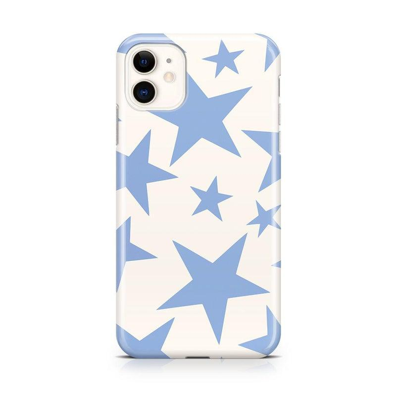 Stars Align | Blue & White Stars Case iPhone Case get.casely Classic iPhone 11