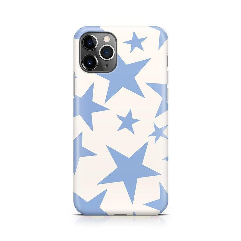 Stars Align | Blue & White Stars Case iPhone Case get.casely Classic iPhone 11 Pro Max