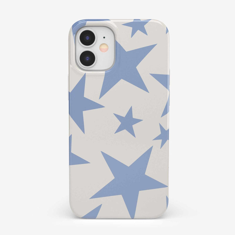 Stars Align | Blue & White Stars Case iPhone Case get.casely Classic iPhone 12 Mini