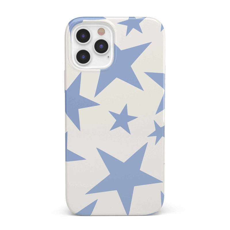 Stars Align | Blue & White Stars Case iPhone Case get.casely Classic iPhone 12 Pro