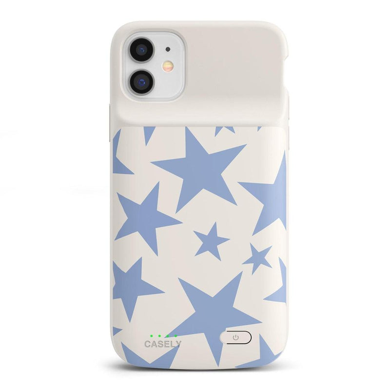 Stars Align | Blue & White Stars Case iPhone Case get.casely Power 2.0 iPhone 11