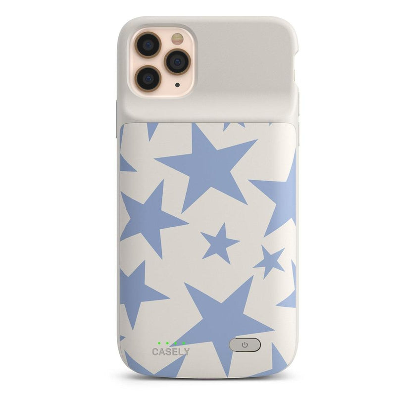 Stars Align | Blue & White Stars Case iPhone Case get.casely Power 2.0 iPhone 11 Pro Max