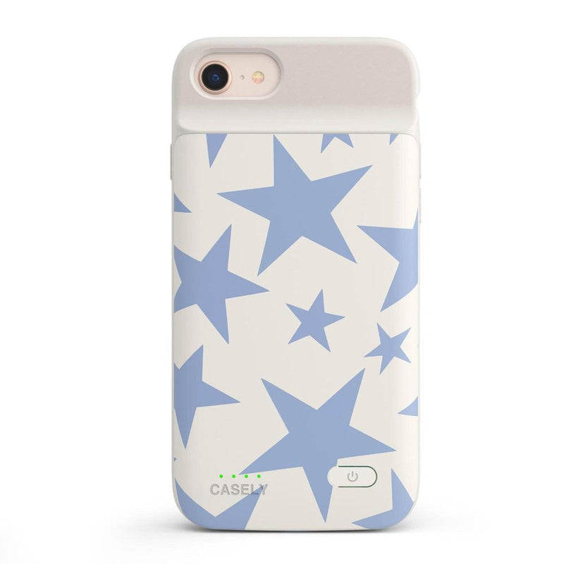 Stars Align | Blue & White Stars Case iPhone Case get.casely Power 2.0 iPhone SE (2020)