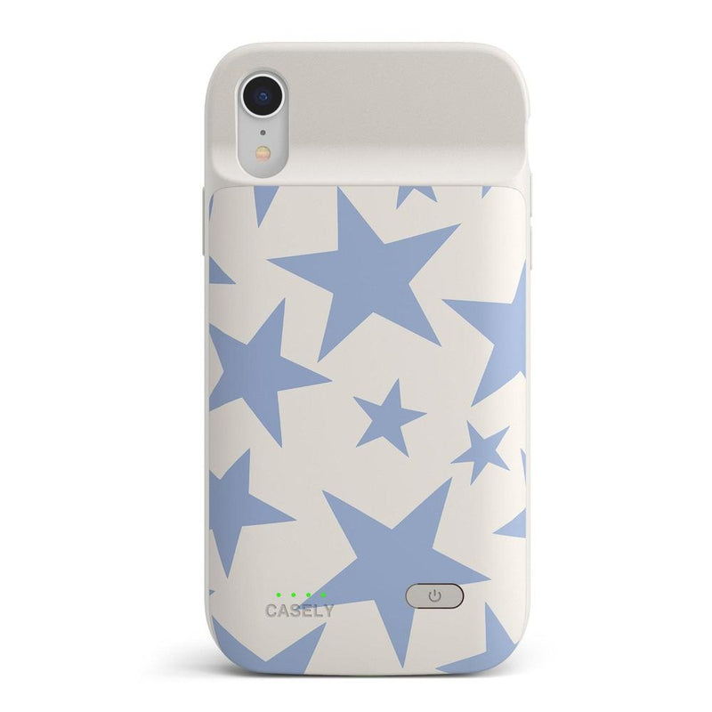 Stars Align | Blue & White Stars Case iPhone Case get.casely Power 2.0 iPhone XR