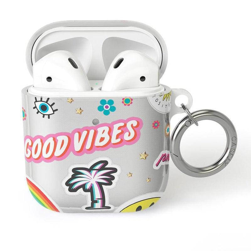 Stuck on U Festival Sticker AirPods Case AirPods Case CASELY