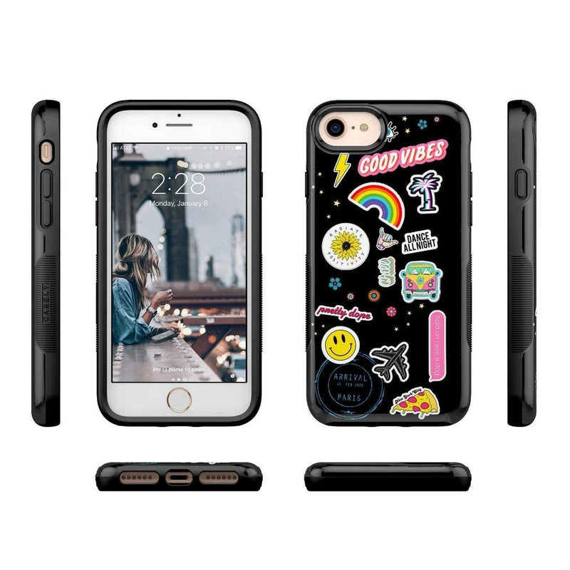 Stuck on U Festival Sticker Case iPhone Case get.casely