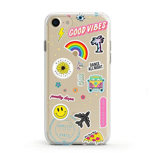 Stuck on U Festival Sticker Case iPhone Case get.casely Classic iPhone 8