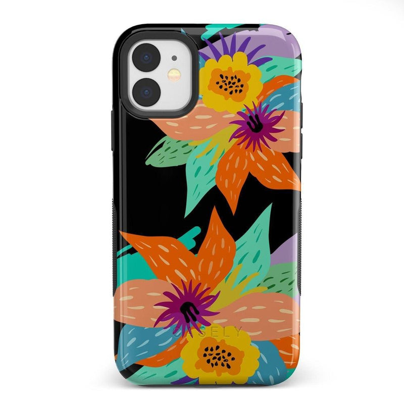 Summer Lovin' Floral Print iPhone Case iPhone Case get.casely Bold iPhone 11
