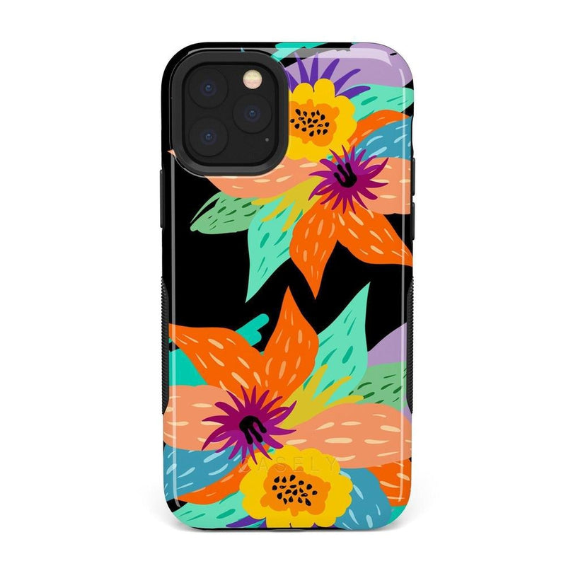 Summer Lovin' Floral Print iPhone Case iPhone Case get.casely Bold iPhone 11 Pro Max