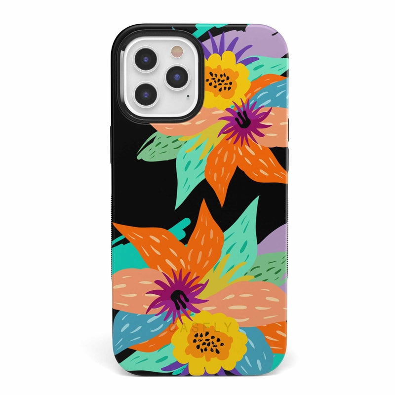Summer Lovin' Floral Print iPhone Case iPhone Case get.casely Bold iPhone 12 Mini