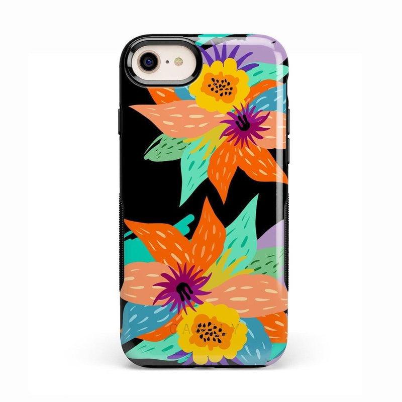 Summer Lovin' Floral Print iPhone Case iPhone Case get.casely Bold iPhone 8