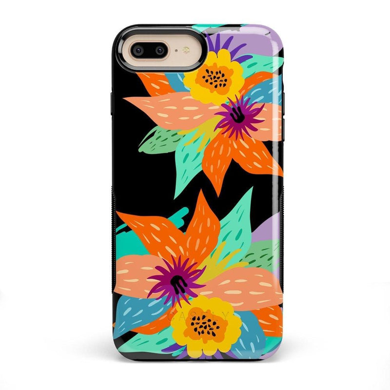 Summer Lovin' Floral Print iPhone Case iPhone Case get.casely Bold iPhone 8 Plus