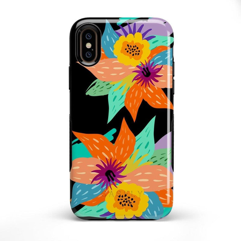 Summer Lovin' Floral Print iPhone Case iPhone Case get.casely Bold iPhone X / XS