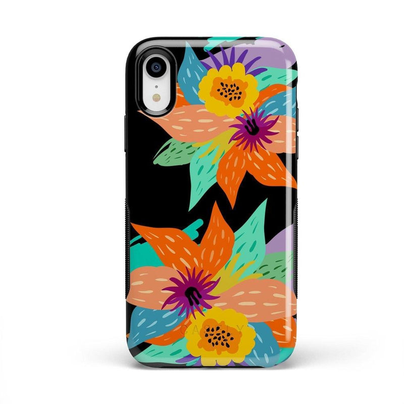 Summer Lovin' Floral Print iPhone Case iPhone Case get.casely Bold iPhone XS Max