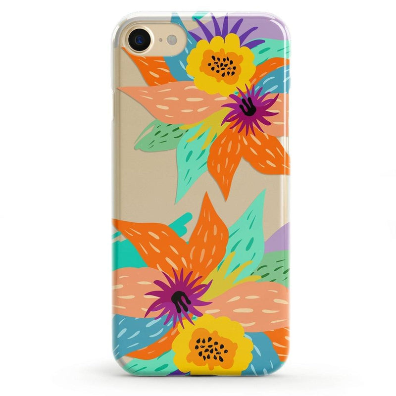 Summer Lovin' Floral Print iPhone Case iPhone Case get.casely Classic iPhone 8 Plus